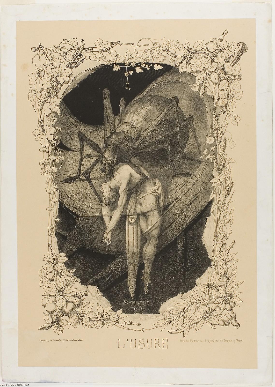 Charles Rambert - Usury, 1851