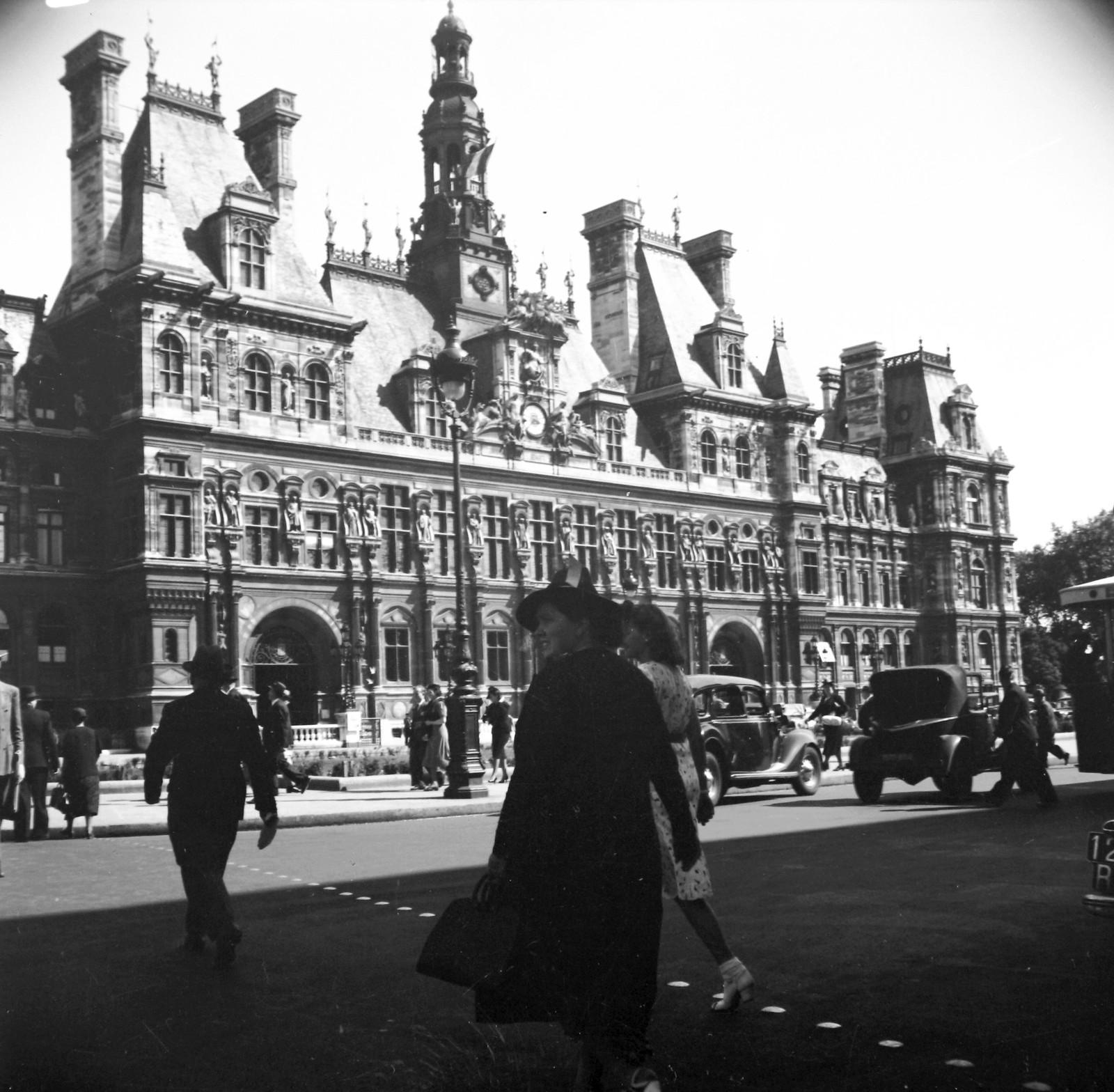 1939. Площадь Отель-де-Виль