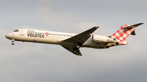 Boeing 717-2CM EC-MGS Volotea Airlines