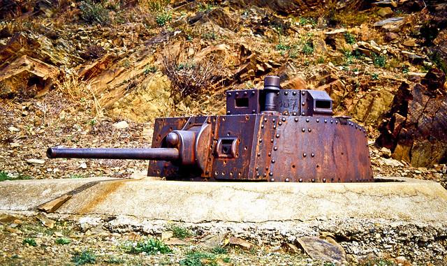 Un Skoda a Portbou / Skoda turret