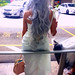 A Greek Goddess, Waiting for a Taxi - Singapore