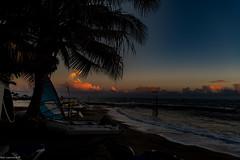 Sun Set Runaway Bay Jamaica.