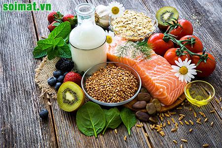 Người sỏi mật nên ăn nhiều rau xanh hạn chế ăn chất béo