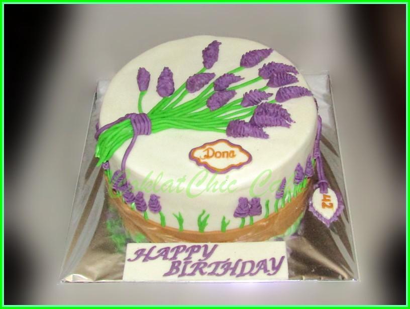 Cake Lavender DONA 24 cm