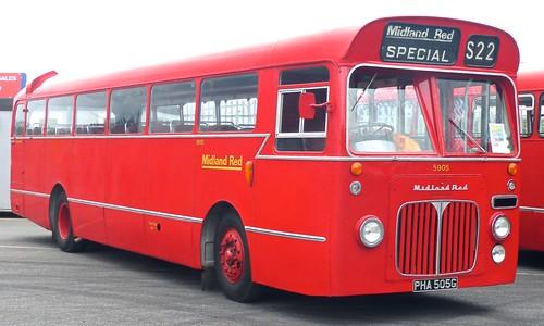 PHA 505G 'Midland Red' No. 5905. BMMO S22 / BMMO Carlyle Works on Dennis Basford's railsroadsrunways.blogspot.co.uk'