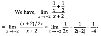 NCERT Solutions for Class 11 Maths Chapter 13 Limits and Derivatives 25