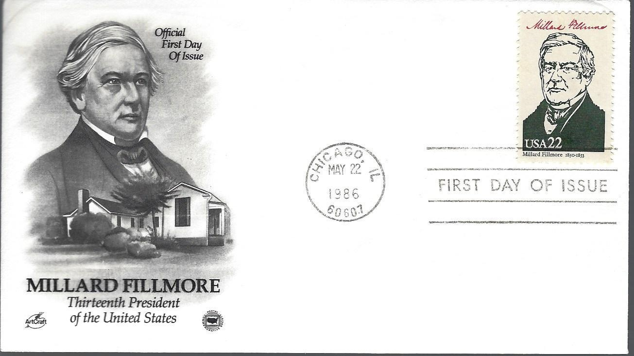 United States - Scott #2217d (1986) first day cover; ArtCraft/Postal Commemorative Society cachet
