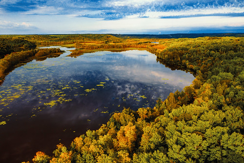 Fall Colors on the St. Louis River, Duluth/Superior