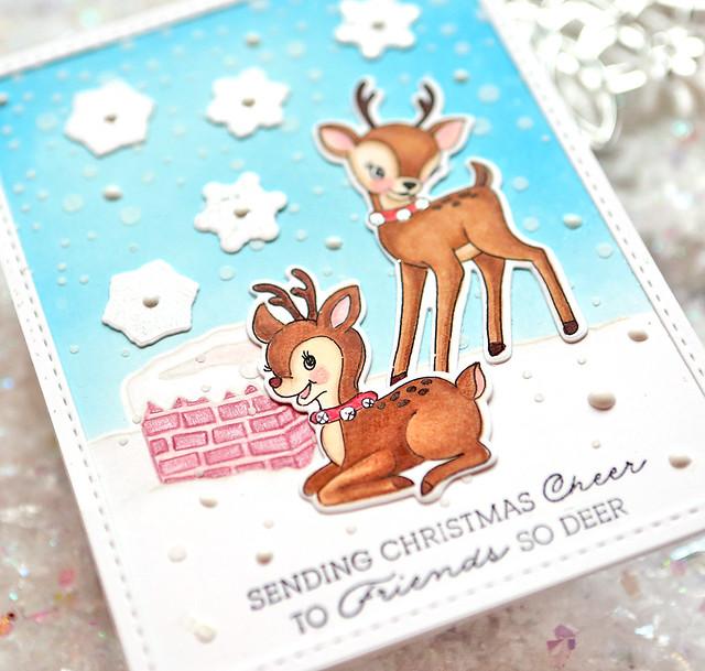 sending christmas cheer close up 1