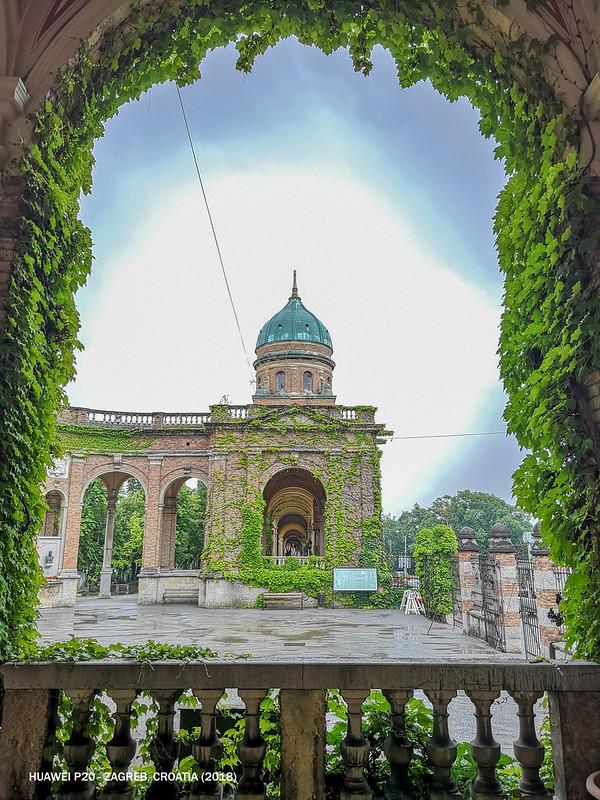 2018 Croatia Zagreb Mirogoj Cemetery 2