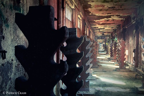 Abandoned textil factory