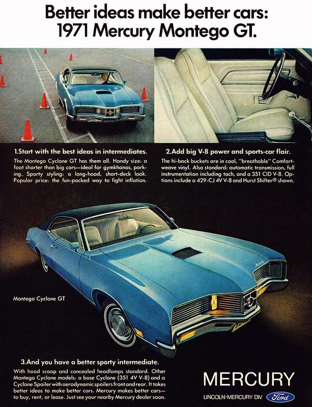 1971 Mercury Montego GT