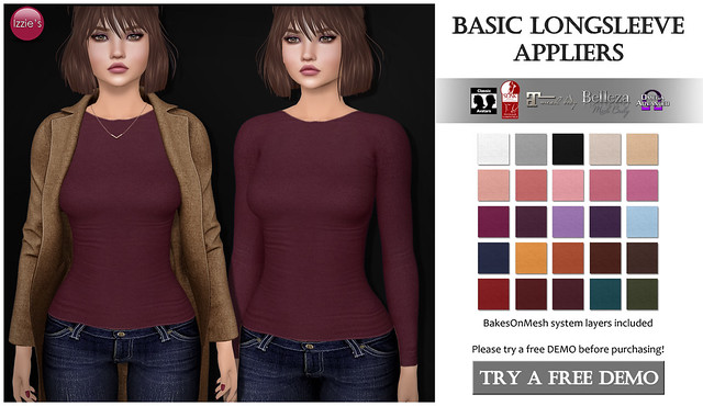 Basic Longsleeve Appliers