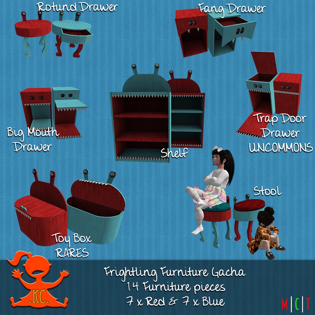 KC Frightling Furniture Gacha Key