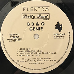 B B & Q:GENIE(LABEL SIDE-A)