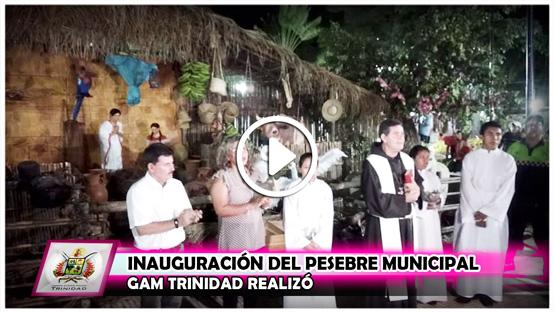 gam-trinidad-realizo-inauguracion-del-pesebre-municipal