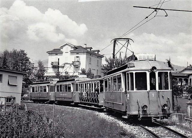 Trains du Lugano Cadro Dino (Suisse)
