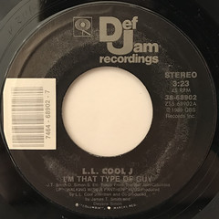 L.L. COOL J:I'M THAT TYPE OF GUY(LABEL SIDE-A)