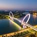 The Nanjing Eye Pedestrian Bridge