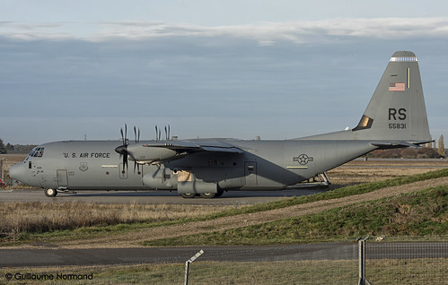 Lockheed C130J-30 United States Air Force 15-5831