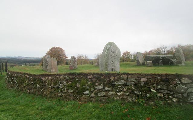 Aquhorthies Stone Circle, Aberdeenshire, Scotland