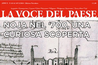 Noicattaro. copertina 40 front
