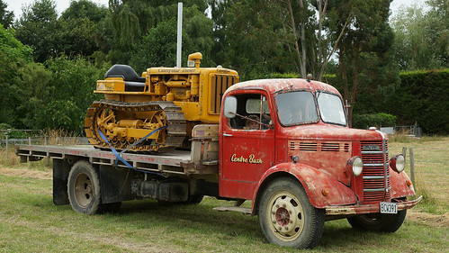 1950 Bedford Olb and Cat D2.