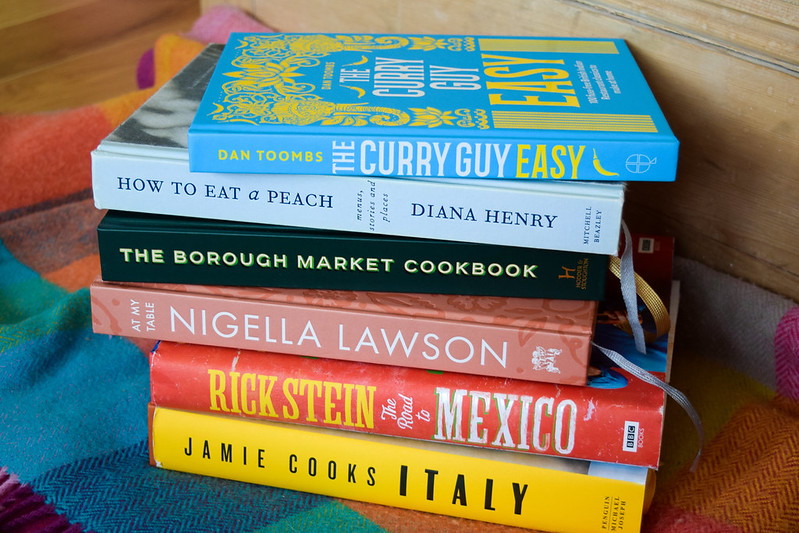 My Favourite Cookbooks in 2018