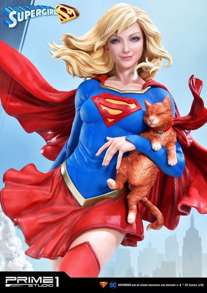 Prime 1 Studio DC Comics【超少女】スーパーガール 1/3 比例全身雕像作品 普通版/EX版
