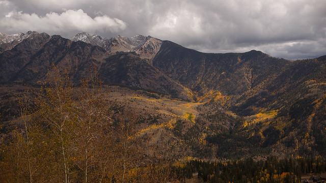 San Juan National Forest Peaks