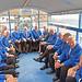 sugarloaf wedding - choir on trailer for return (2)