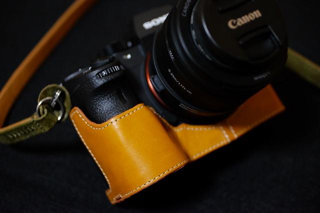 TP DIRECT α9 Genuine leather case