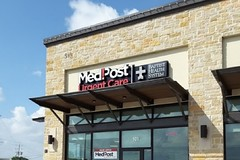 Medpost Urgent Care 5 minutes drive to the south of Cibolo Pediatric Dentistry