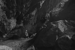 en bas de la Grotte de la Borme de Fourg