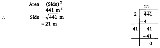 NCERT Solutions for Class 8 Maths Chapter 6 Squares and Square Roots 43