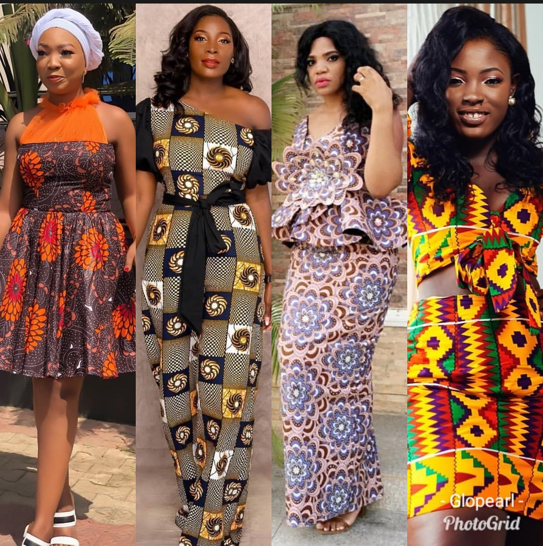 Ankara Styles 2020 SKIRTS AND BLOUSE,GOWNS,JUMPSUITS 2