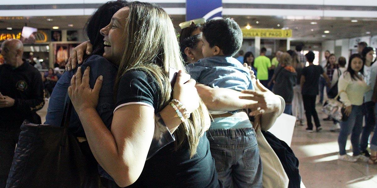 Nueva jornada especial del Plan Vuelta a la Patria retorna con éxito a 540 venezolanos