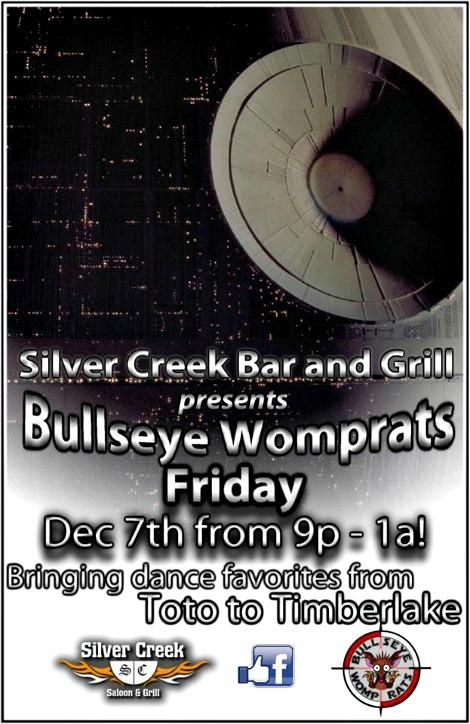 Bullseye Womprats 12-7-18