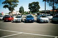 2018 Parking Lot - 2015 BMW, 2009 Mitsubishi, 2010 Hyundai