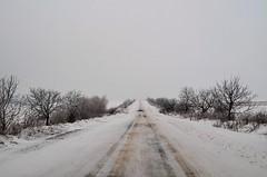 Iarna pe ulițe...