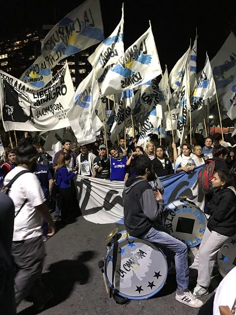 Mayo 23 Protesta en Buenos Aires (2017 May)