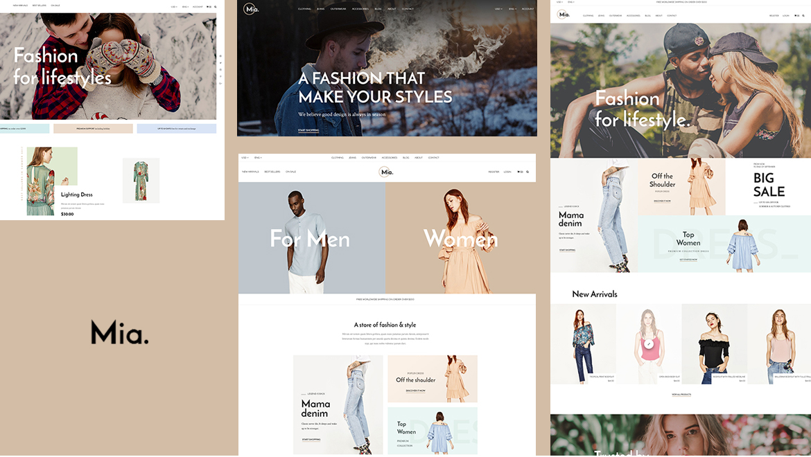 Leo Mia_Clothing and Accessories Prestashop theme