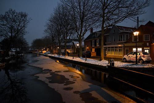 Winter in Edam