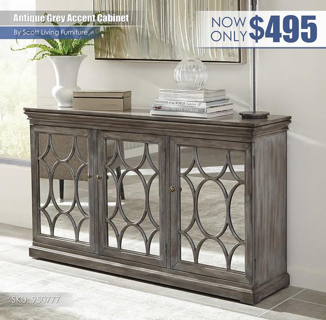 Antique Grey Accent Cabinet_Scott Living_950777