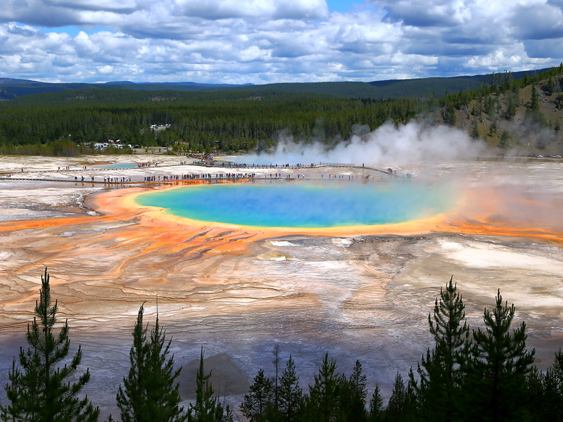 IMG_8149 Grand Prismatic Spring, Yellowstone National Park