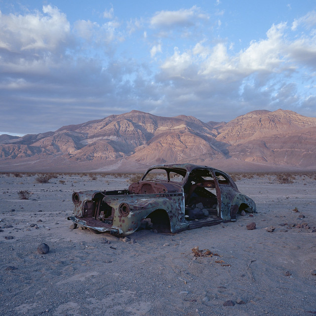 long term parking. panamint valley, ca. 2018.