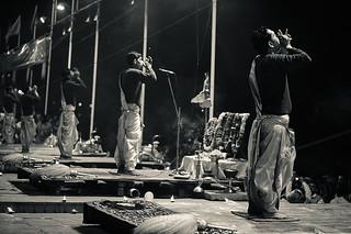 Varanasi, India - Ganga Arti