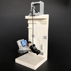 """Lego """"Stealing the NOC List"""" Mission Impossible - 8x8 Plate Movie Scene Build # 13"""