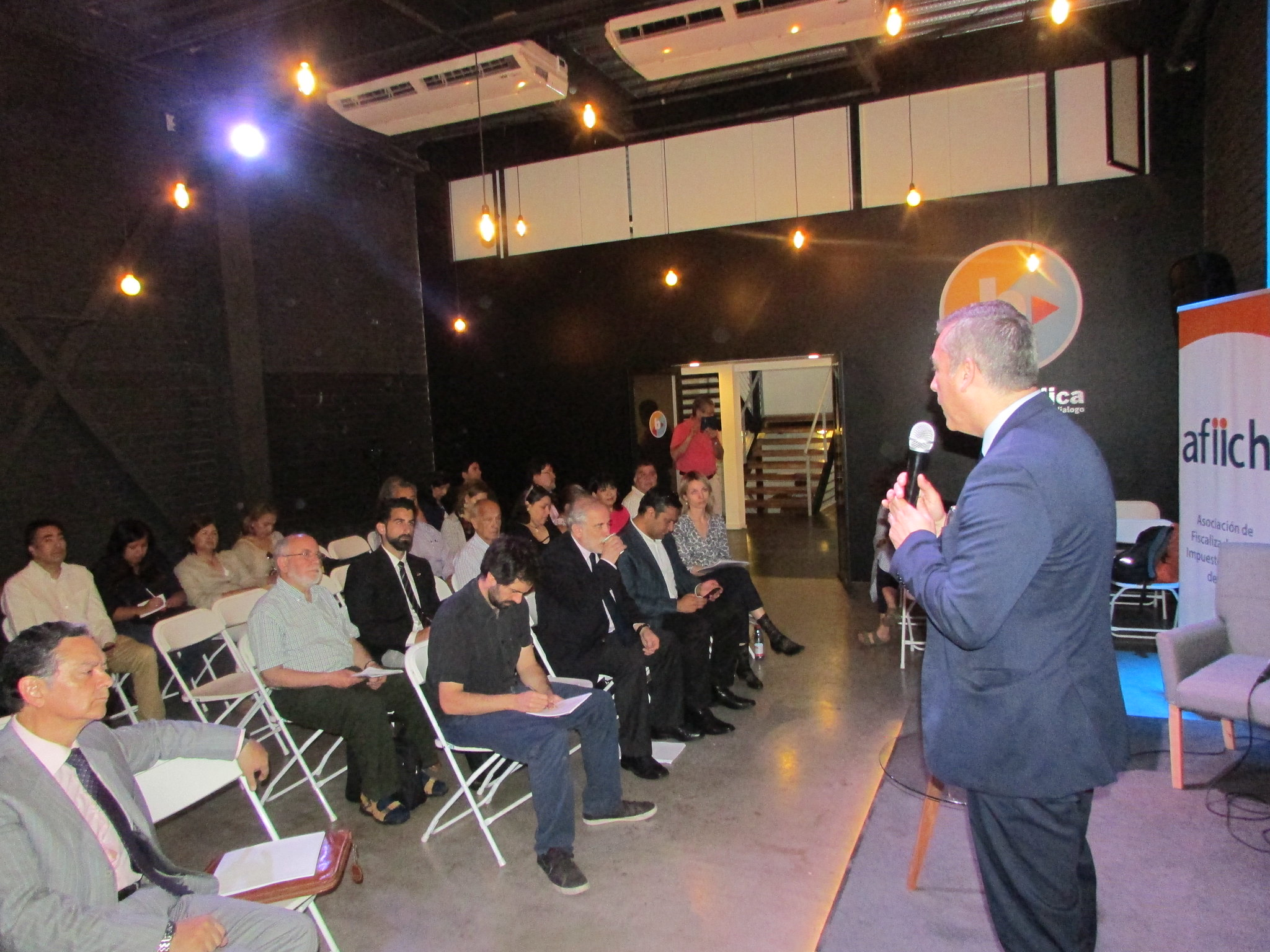 """Con éxito se realizó seminario AFIICH – FES - ISP """"Contribuyendo a la Justicia Tributaria"""", con destacados panelistas – 23 Noviembre 2018"""
