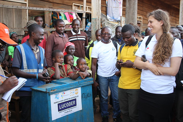 Nyanzale, North-Kivu, DR Congo: The Stabilization Support Unit of MONUSCO (SSU) conducted a monitoring and sensitization mission in Bashasli and Bwito chiefdoms, meeting the beneficiaries of the International Security and Stabilization Support Strategy (I